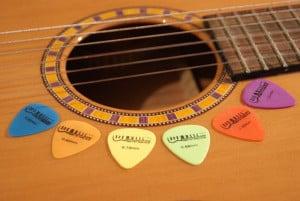 Plektrum Gitarre