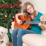 Morgen, Kinder, wird's was geben – Akkorde für Gitarre