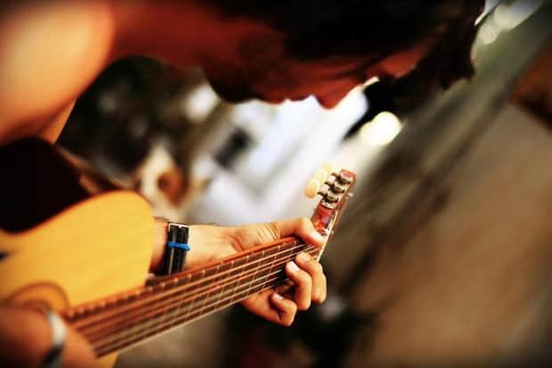Gitarre lernen ohne Noten