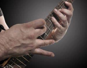 Tapping Gitarre