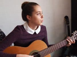 Schlagmuster Gitarre lernen