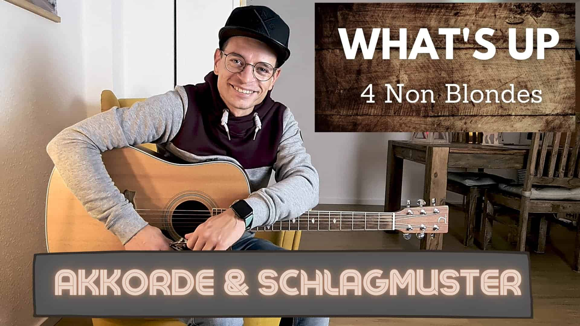 What's Up für Gitarre lernen